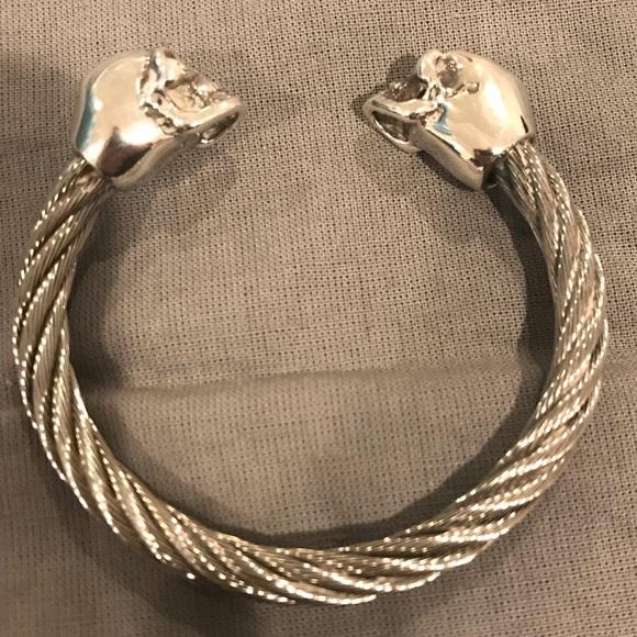 e290574cc King Baby Studio Accessories | Mens Sterling Silver Skull Cuff ...